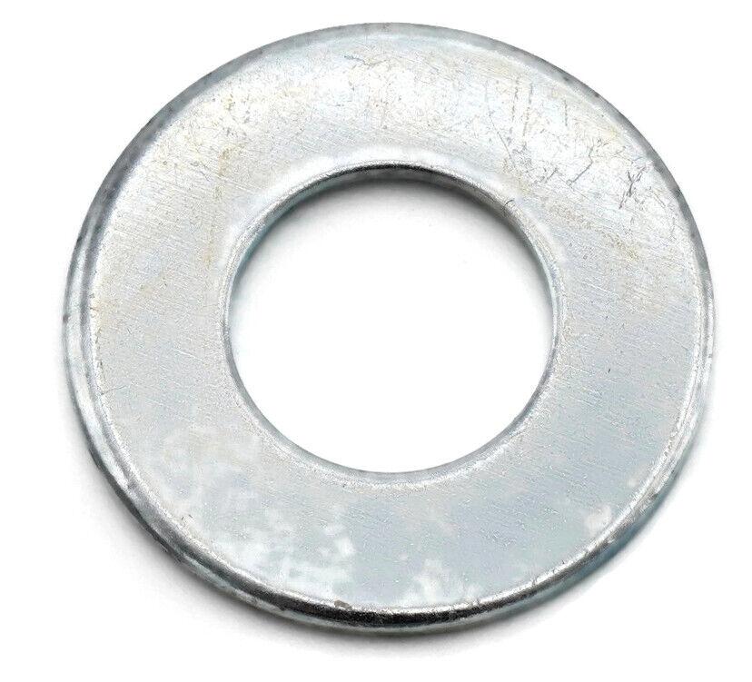 flat washers zinc plated steel sae inch