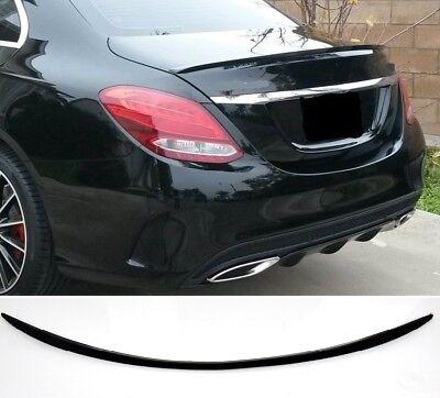 Für Mercedes Benz C-Klasse W205 C36 Amg Look Heckspoiler Grundiert Spoiler #