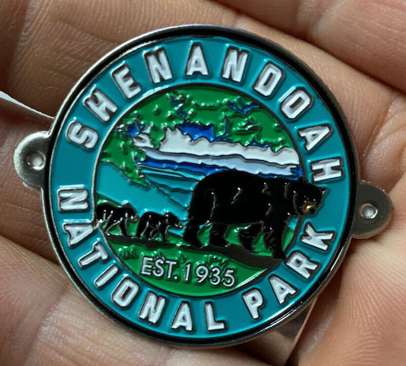 Shenandoah National Park walking Hiking Medallion NEW staff Virginia
