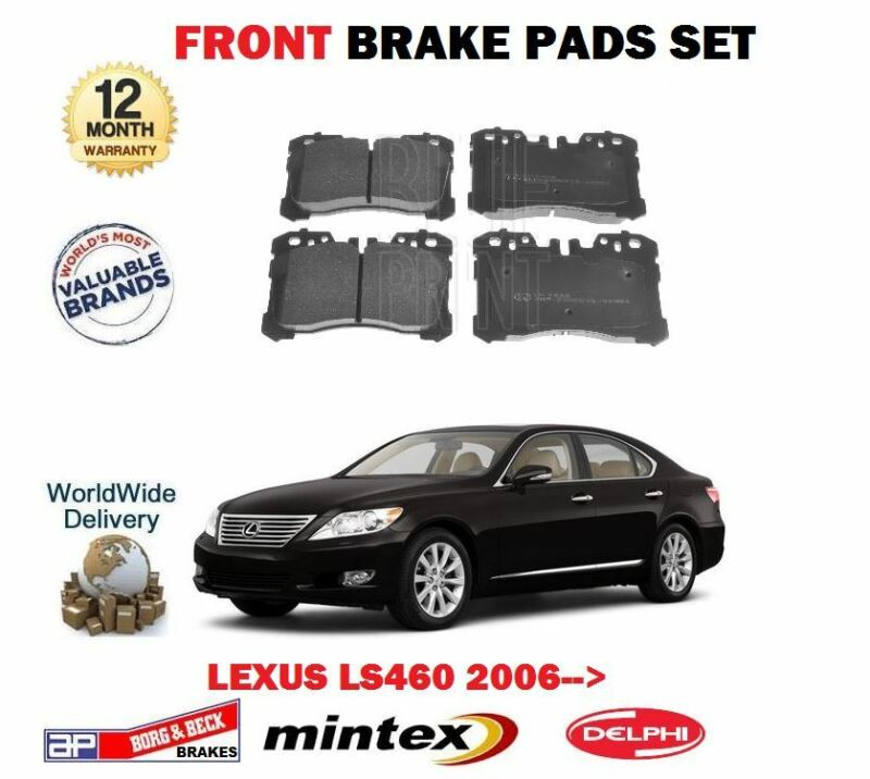 FOR LEXUS LS460 1UR-FSE 32v 2006-> NEW FRONT BRAKE DISC PADS SET