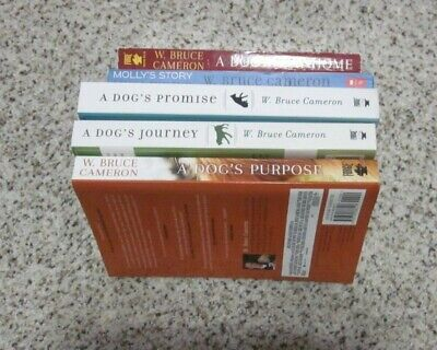 Lot 5 BOOKS W. Bruce Cameron A DOGS PURPOSE JOURNEY PROMISE