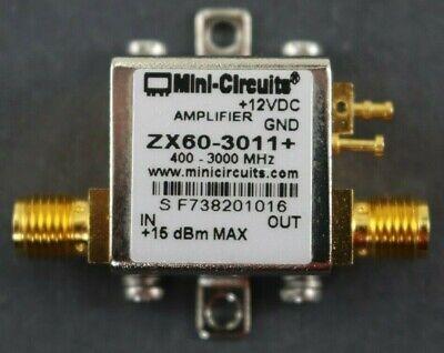 Mini-circuits Zx60-3011 Broadband Rf Amplifier Lna 400mhz - 3.0ghz 21dbm Gain