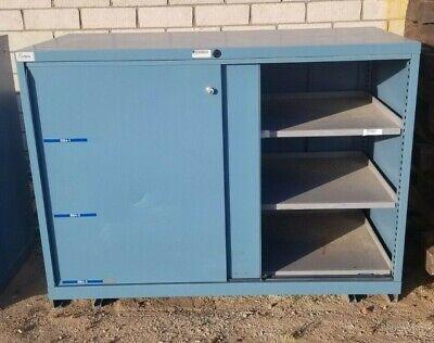 Lista Sliding Drawer Cabinet Industrial Tool Shop Storage Bin Heavy Duty