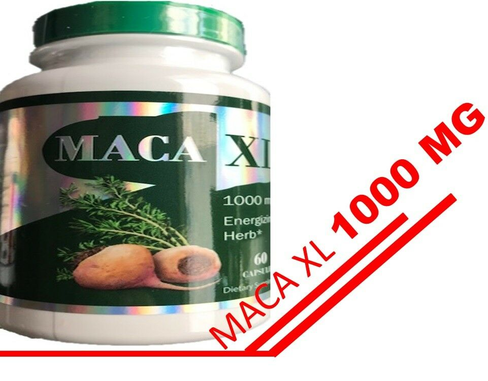 Maca Root Extract XL 1000 mg 60Caps Sexual Male Enhancement Libido Stamina  2