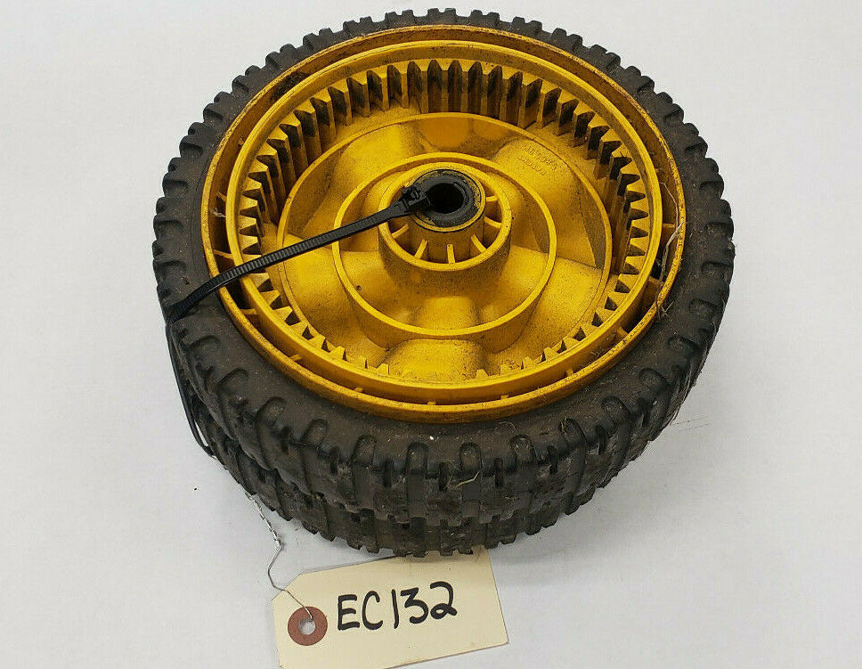 2 TWO USED MTD OEM 634-04100 WHEEL ASSEMBLIES FWD - ORIGINAL EQUIPMENT EC132 - $17.00