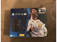 PS4 Pro 1tb with FIFA 18 Brand New 🔥🔥