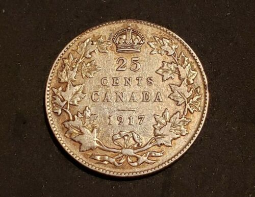 1917 Canada Silver Quarter