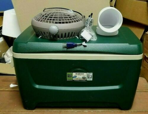 Onos XLG 48qt Camo Portable Swamp Cooler Air Conditioner Home Camping Ice Chest