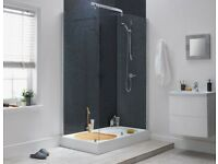 Mist by Aqualux - complete walk-in shower enclosure - wet room. Brand new, boxed and unopened