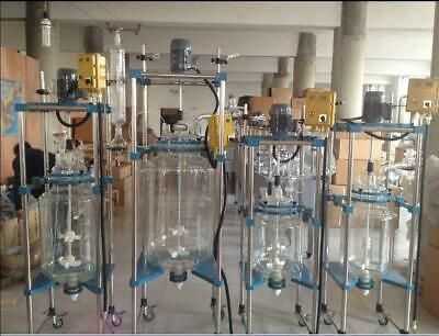 50l Explosion Proof Motor Jacket Chemical Reactor Glass Reaction Vessel Y