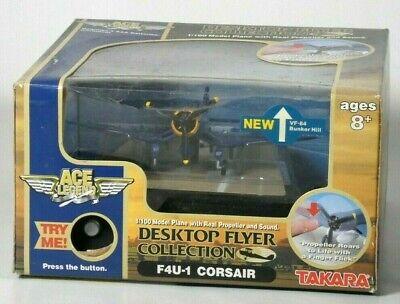Takara Ace Legend F4U-1 Corsair 1/100 Die Cast Model Airplane Display