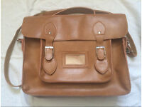 BROWN BAG VINTAGE/BRIEFCASE/LAPTOP STYLE