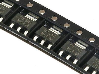 50pcs Ams1117 Ams117-5.0 5.0v 1a Voltage Regulator Sot-223 New Z3