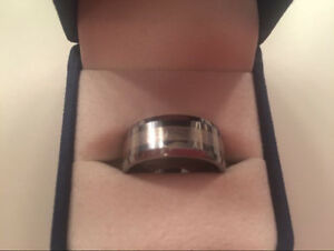 Birks Tungsten  / Platinum 9mm Men's Ring
