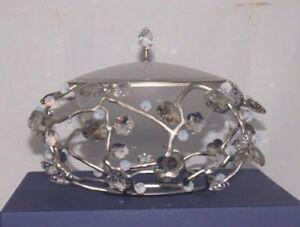 Swarovski Crystal Blossom Box/Bowl 898255
