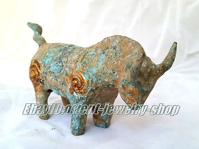 Collectables! Chinese old Dynasty green patina Bronze horse statue