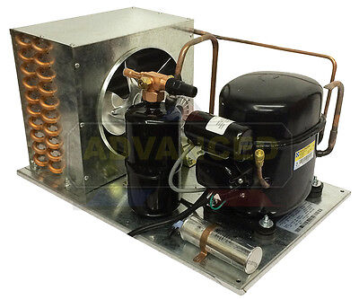 Indoor Ca2435z-1 Condensing Unit 78 Hp Low Temp R404a 115v. Assembled In Usa