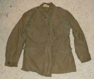 Vintage Original World War II US Army M43 Field Jacket Coat