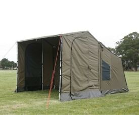 Oztent RV2 and side canopies  sc 1 st  Gumtree & FRENCH ANDRE JAMET SUPERB CANVAS 2-4 PERSON FRAME TENT | in Perth ...