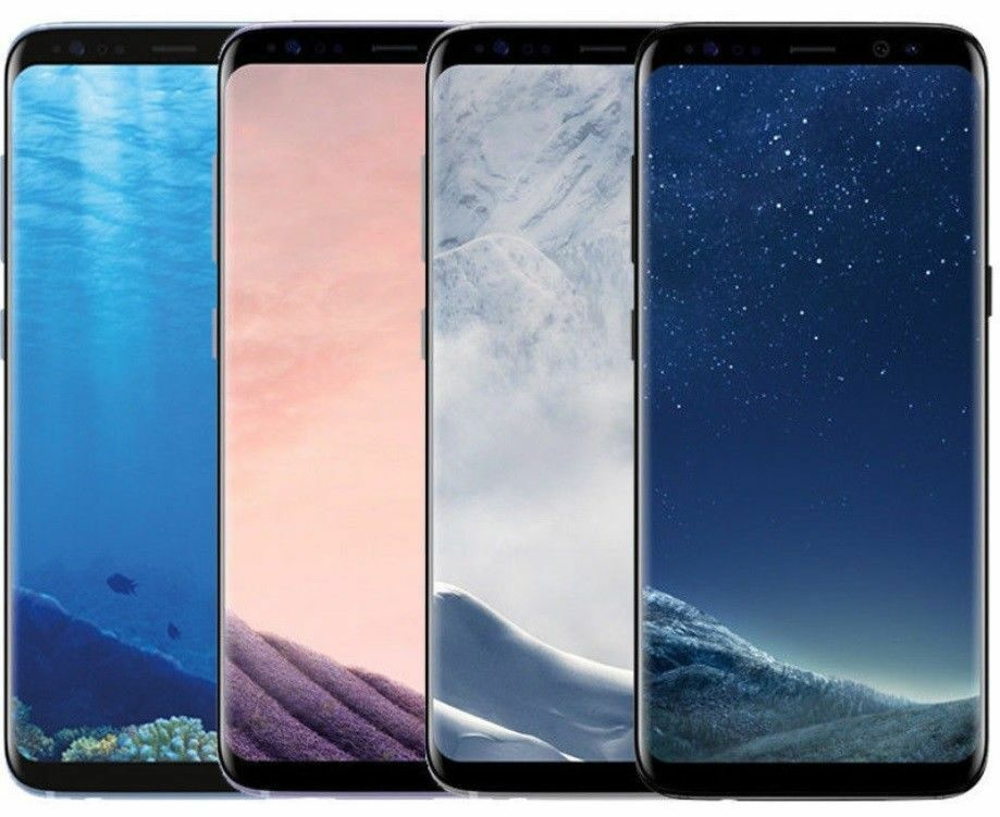 Android Phone - Samsung Galaxy S8+ Plus G955U 64GB Unlocked GSM AT&T T-Mobile Verizon w/ Defects