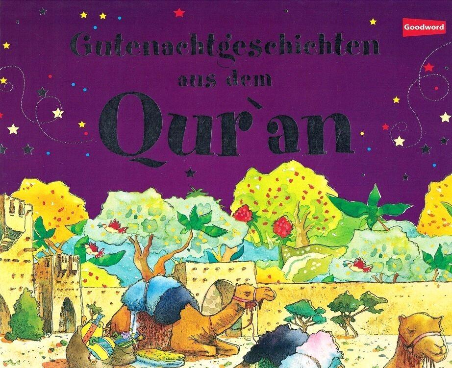 Gutenachtgeschichten aus dem Quran  Koran  Kinder Islam Takschita Abaya Kaftan