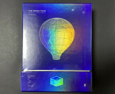 BTS-2017 Live Trilogy Episode III The Wings Tour in Seoul DVD FACTORY SEALED
