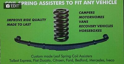 Spring Assister Kit for leaf springs to fit Mercedes 308/307 pre Sprinter