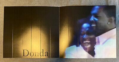 Kanye West Donda Listening Event Atlanta Souvenir Poster / Fan