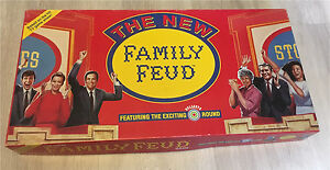 1990 Family Feud vintage board game