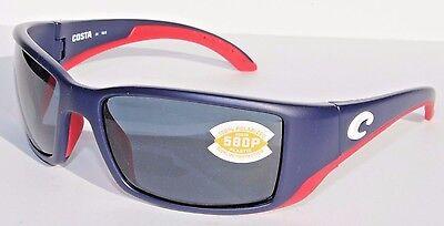 Edition Polarized Sunglasses (COSTA DEL MAR Blackfin 580P POLARIZED Sunglasses USA Blue/Gray LIMITED EDITION )