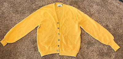 Vintage Arnold Palmer Robert Bruce Cardigan Sweater, 50% Alpaca 50% Wool, Size M