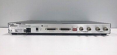 Audio Precision Swr-2755u Unbalanced Switcher Audio Analyzer