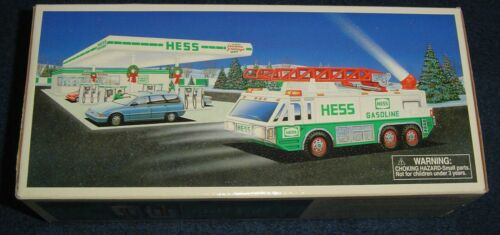 Hess Truck 1996 Emergency Truck New In Box Hess Truck 1996