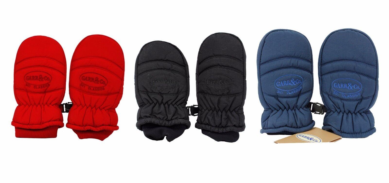 Guanti da bambino Moffola sci neve snowboard Garr&Co.rosso blu nero