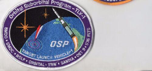 Original TRW USAF VAFB Orbital Suborbital Program- TLV-1 Minotaur Launch Patch