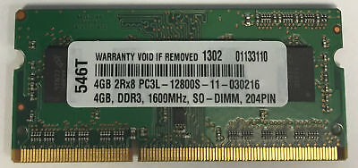 4GB DDR3 MEMORY MODULE FOR  Lenovo ThinkCentre M93p 10AB