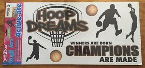 BASKETBALL WALL ART CRAFT DECOR