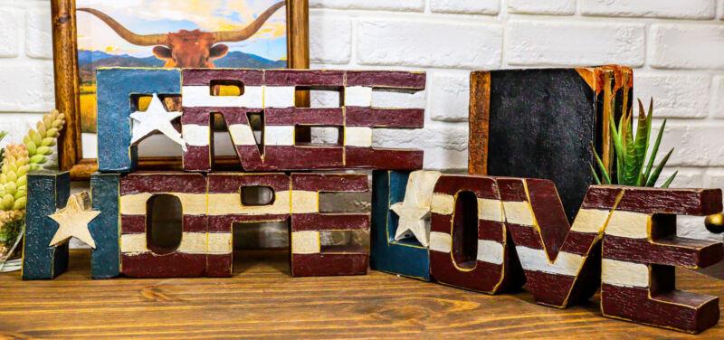 Pack of 3 USA Patriotic Flag