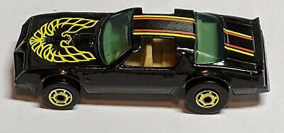 HOT WHEELS BLACK MALAYSIA NO NUMBER BASE HOT BIRD LOOSE