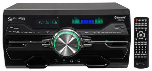 Technical Pro Professional 4000w Receiver/Amplifier/DVD Play