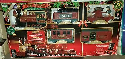 EZTEC G-Gauge North Pole Express Remote Control Animated Christmas Train Set