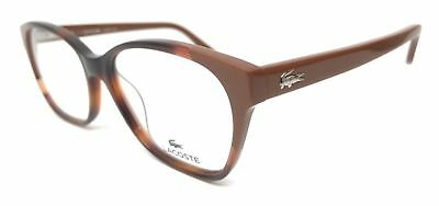 NEW ORIGINAL LACOSTE L2737 214 Havana Women's Eyeglasses 51mm 15 135