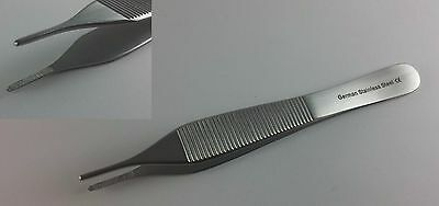 Adson Brown Tissue Forceps Serrated German Stainless Steel Ce Surgical
