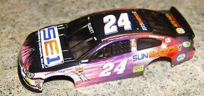 """NEW"" AW REL 3 #24 CHASE ELLIOTT NASCAR SERIES HO SLOT CAR BODY"
