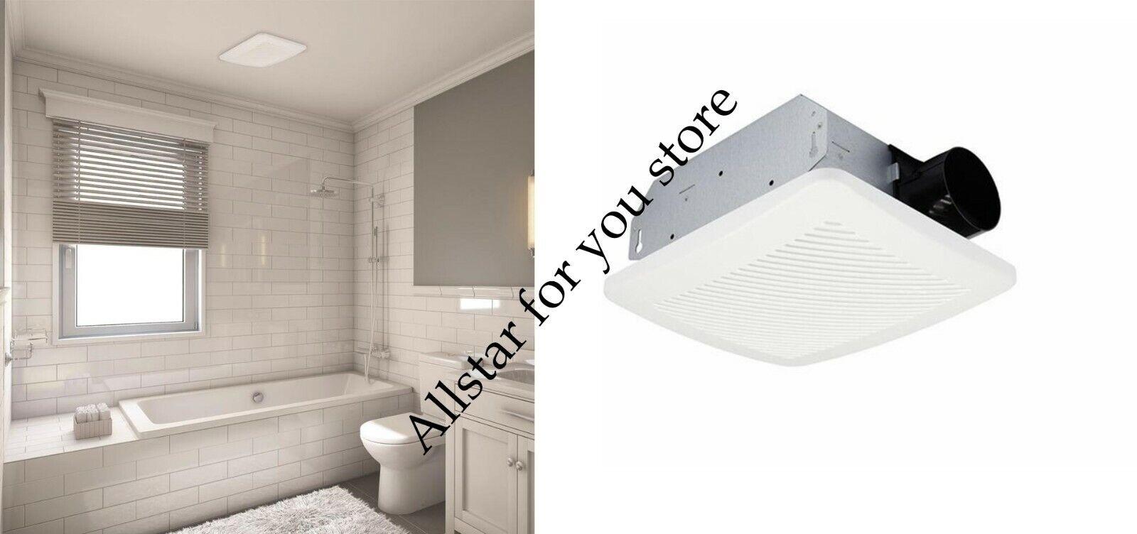 Utilitech Ventilation Fan 2-Sone 70-CFM White Bathroom Fan E