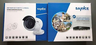 SANNCE IP Cam Set 4x Kamera Überwachungskamera Außen IP inkl. Recorder NEU  OVP gebraucht kaufen  Gladenbach