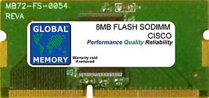 8MB-DISPOSITIVO-SODIMM-CISCO-871-871W-876-ADSL-877-ADSL-878-878W-ROUTERS