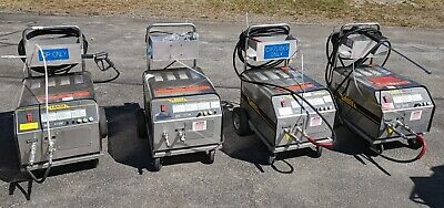 Lot Of Four Landa Sea3-1100d Commercial Industrial Pressure Washers