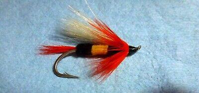 X6 Steelhead Salmon Trout Assorted Brite But Size #4 Flies US Alaska Canada