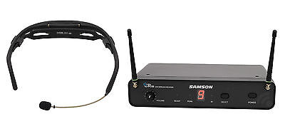 Samson Airline (Samson Airline 88 Headset Wireless UHF Microphone Fitness System 16-Channel )
